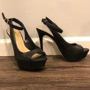 Bcbgeneration wrap around heels